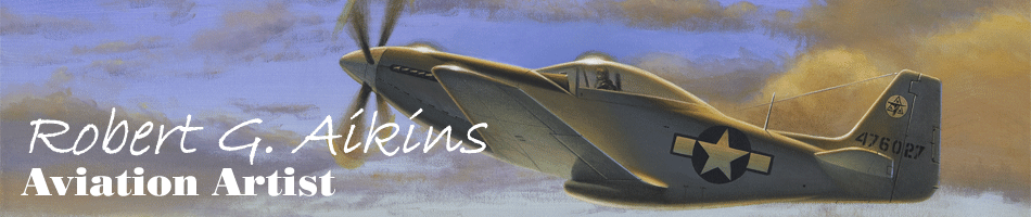 Robert G. Aikins | Aviation Art